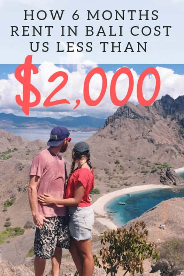 How 6 Months Rent in Bali Cost us Less than $2000