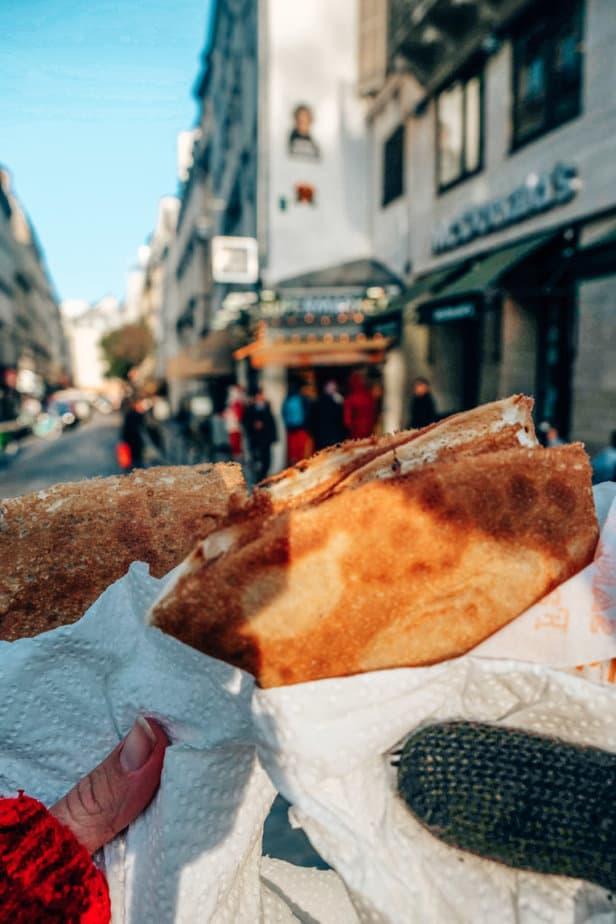 Crepes in Paris