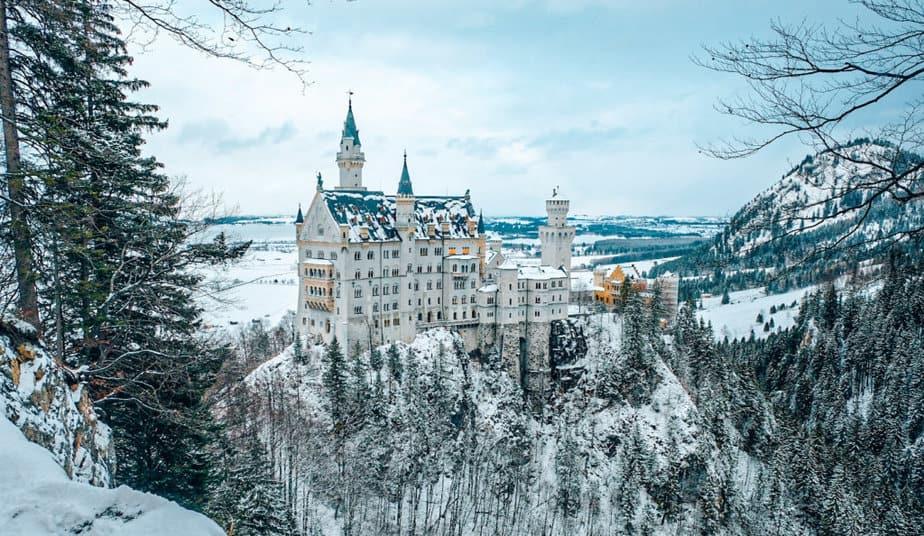 Neuschwanstein Castle, Germany in Europe