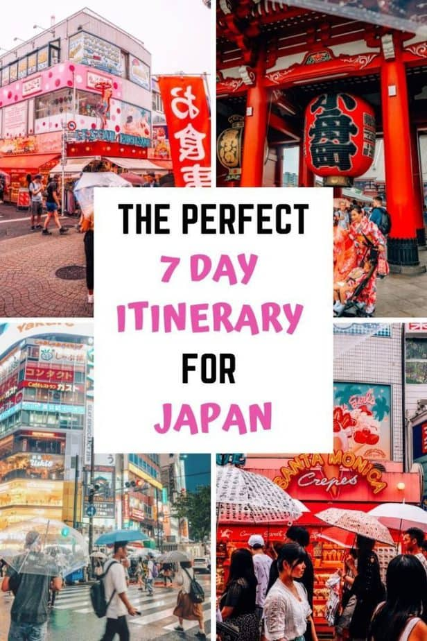 The Perfect Japan Itinerary for 7 Days