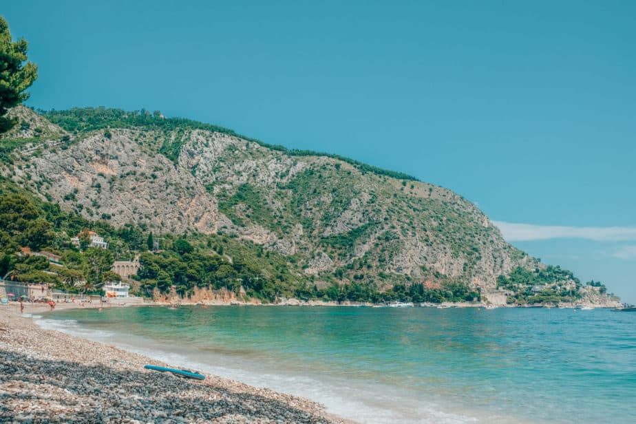 Eze beach hike from Eze Village