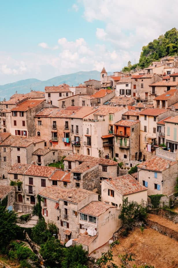 Peille Village near Nice France