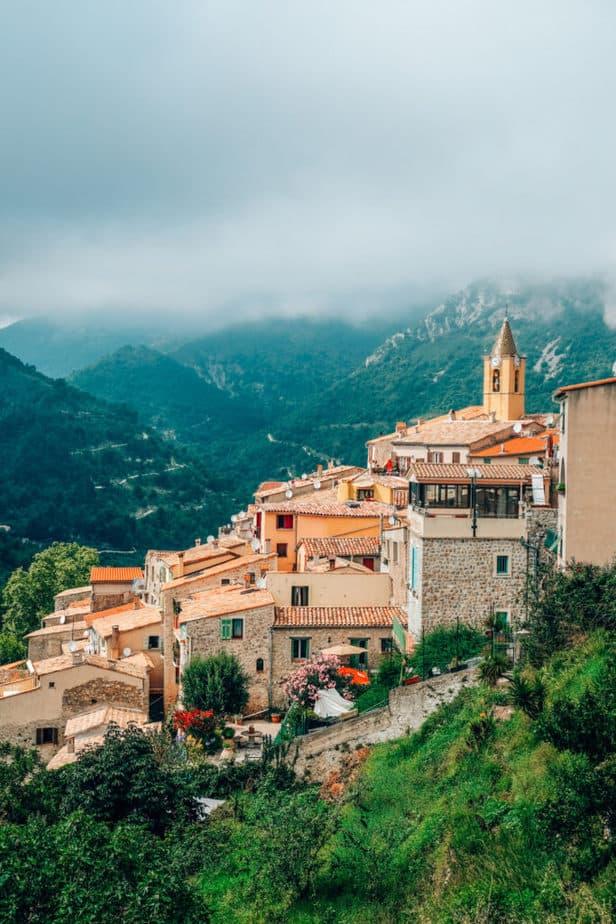 Sainte-Agnes Hilltop Village near Nice France