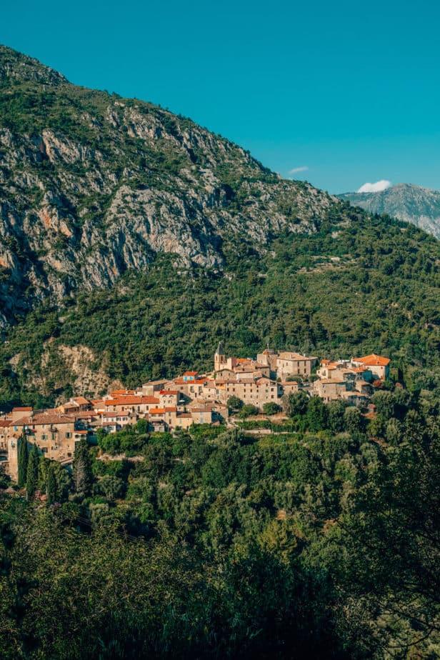 Gorbio village near nice france