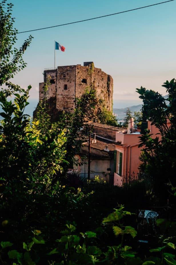 Roquebrune-Cap-Martin near Nice France