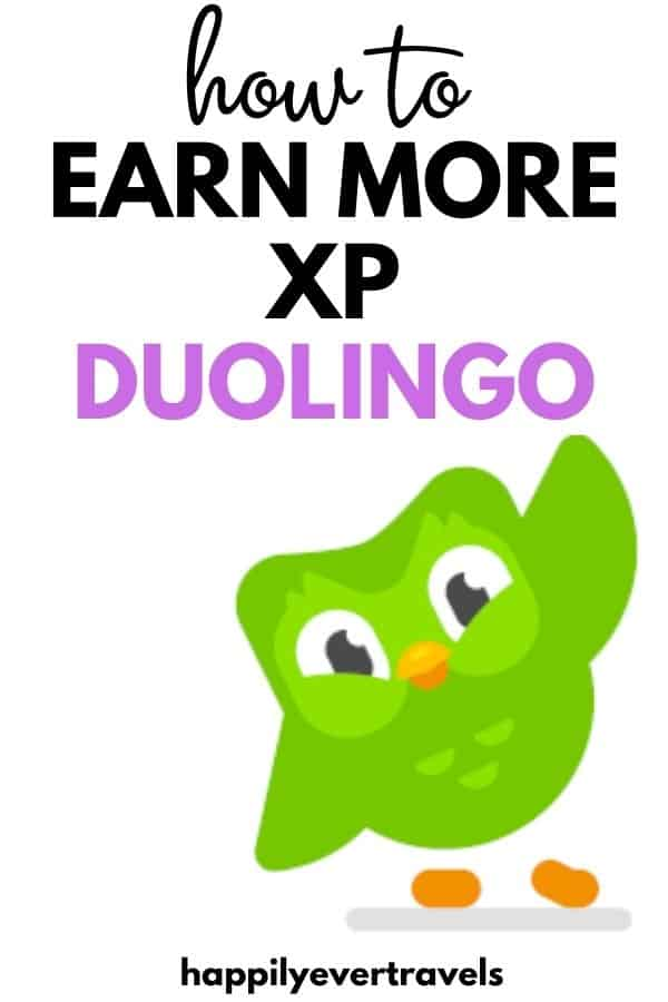 how to earn xp fast on Duolingo