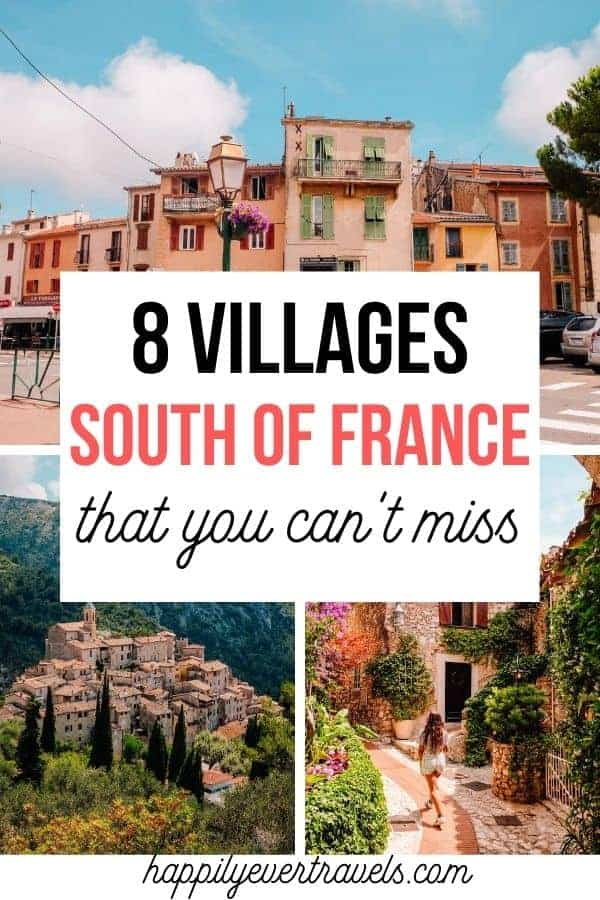 8 Villages in the South of France Near Nice