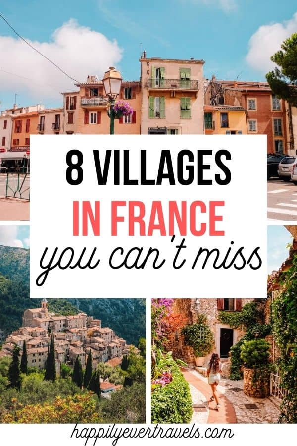 Most Beautiful Hilltop Villages Near Nice France