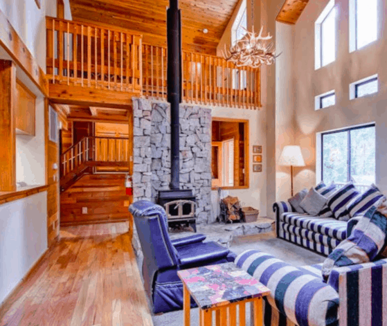 24 Cozy Snow Cabin Rentals on Airbnb in the USA • Happily ...
