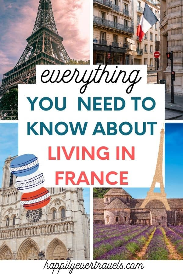 what to know about living in france