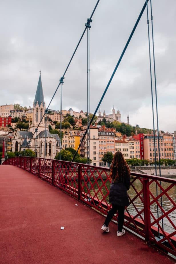 Saint George's Suspension Bridge (Passarelle)