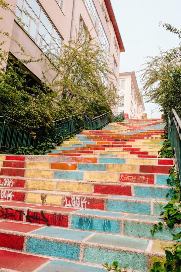 Escaliers Colores
