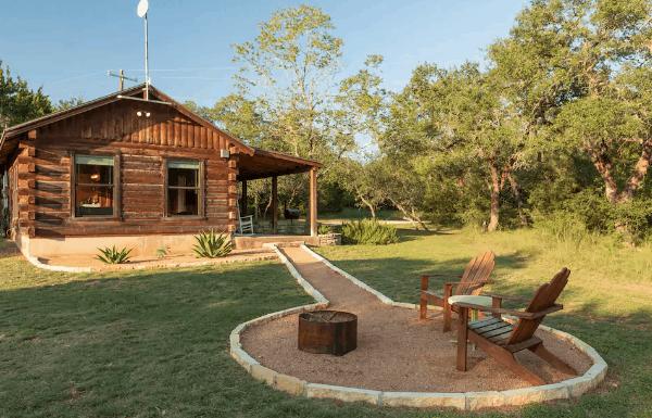 Texas cabin rental airbnb