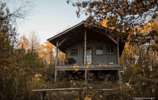 Arkansas airbnb cabin rental