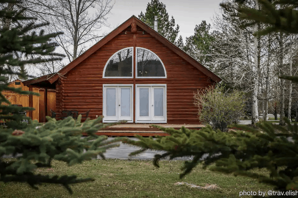 Cabin the the woods for rent
