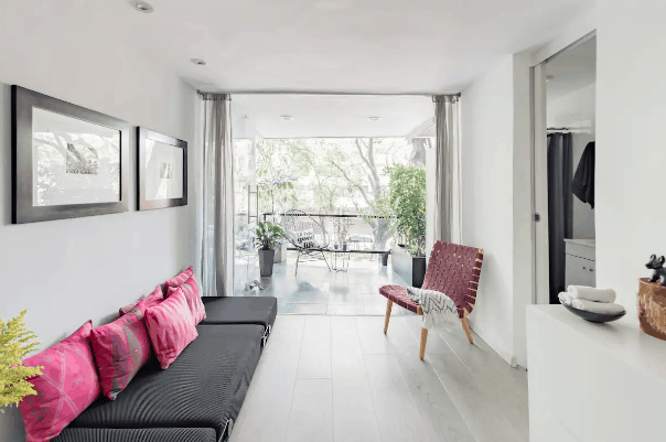 Airbnb short term rentals in mexico city