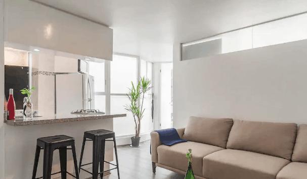 Modern rental apartment Mexico City