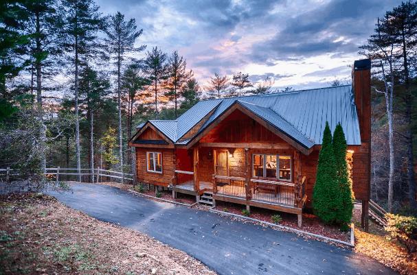 Blue Ridge cabin rental Airbnb