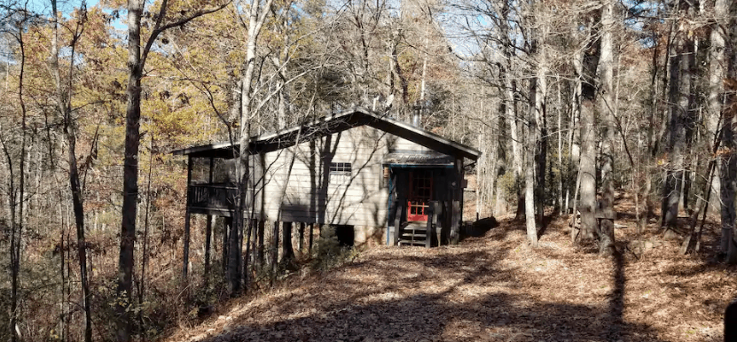 Cabin in the woods for rent Airbnb