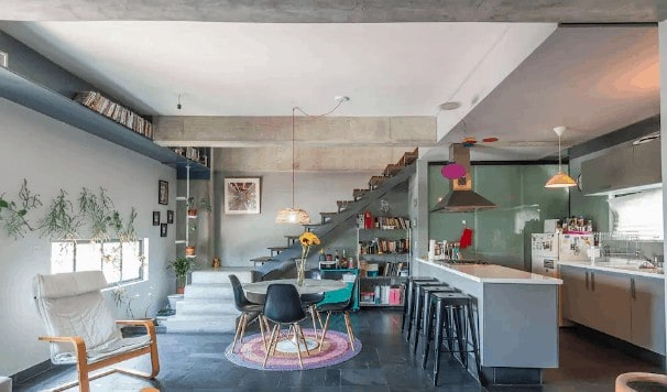 Loft apartment in Mexico City