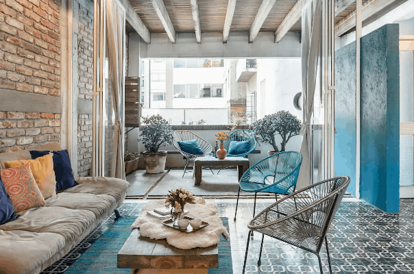 chic Mexico City apartment for rent on Airbnb