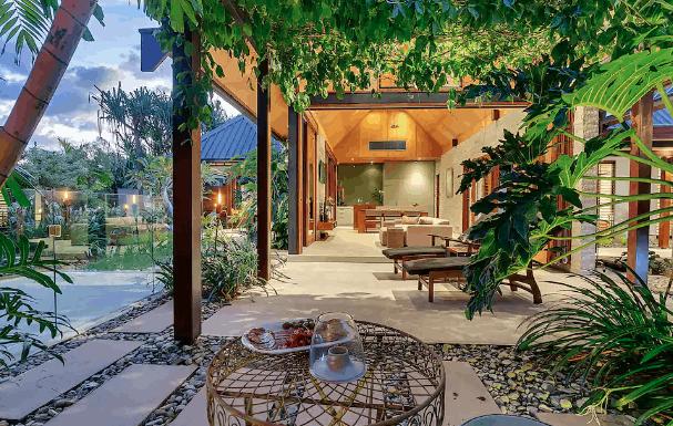 Bali villa airbnb rental Port Douglas