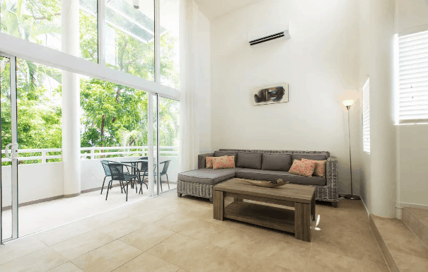Open concept living room port Douglas Australia