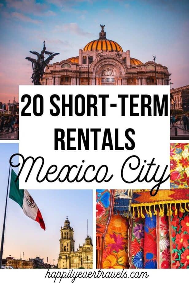 Short Term Rentals in Mexico City
