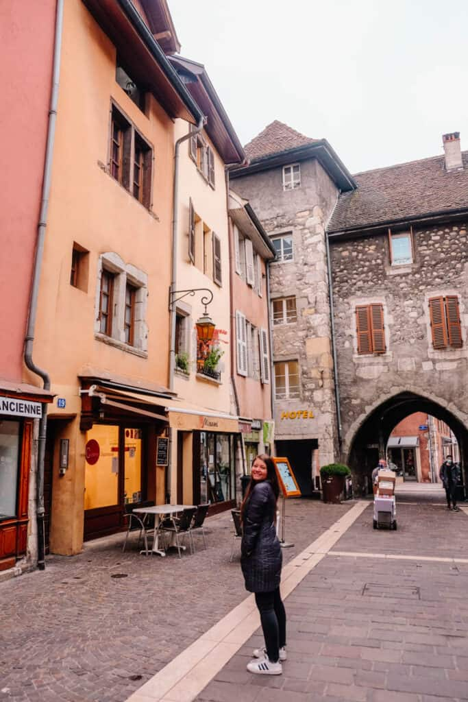 buildings in old Annecy