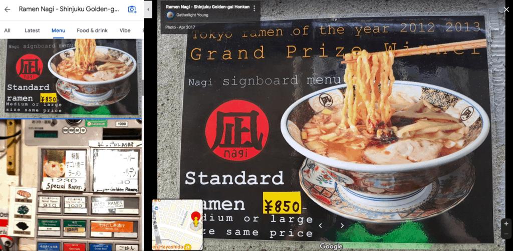 cheap ramen in Japan