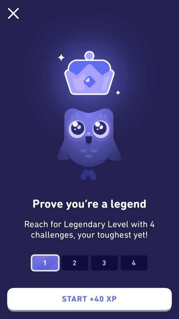 Legendary Level Challenge