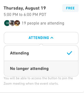 Attending a Duolingo Event